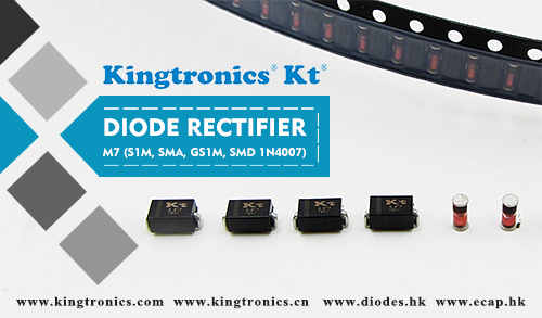 Kingtronics Excellent Lead Time and Offers Support for Diode Rectifier M7 DO-214AC
