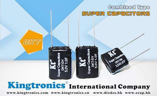Kingtronics 5.5V-7.5V Combined Type Ultra-Capacitor – DKT-DM