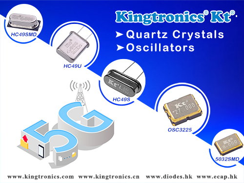 Kingtronics Passive Components Benefit from 5G Business Opportunities