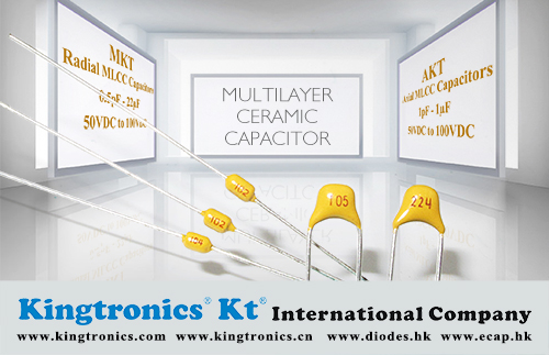 Kingtronics Excellent Lead Time and Price Support for Multilayer Ceramic Capacitor—Kingtronics MKT, AKT