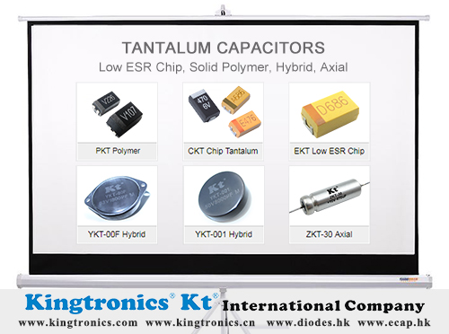 Kingtronics Analyzes Tough Situation for Tantalum Capacitors