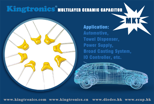 Kt Radial Type Multilayer Ceramic Capacitor