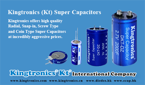 Kt Screw Type and Coin Type Super Capacitors